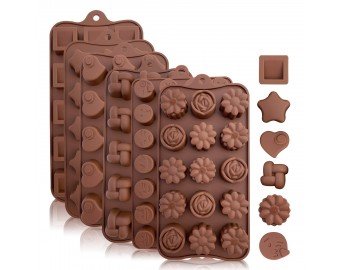 Silicone Candy and Chocolate Molds