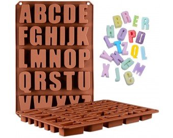 26 Cavities Alphabet Silicone Cake Baking Mold