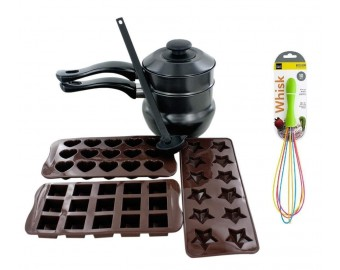 The Kitchen Queen 6 Pack Chocolate Making Kit